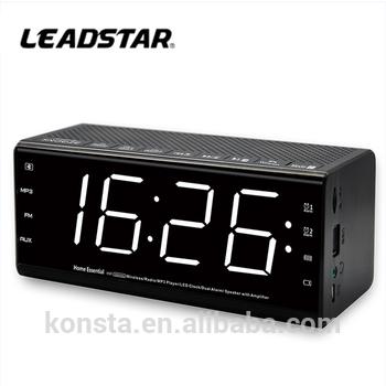 Dijital radyo saat, am/fm radyo çalar saat, dev çalar saat - PNG Digital Alarm Clock