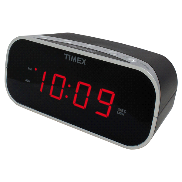 Dual Alarm Clock Radio with 0