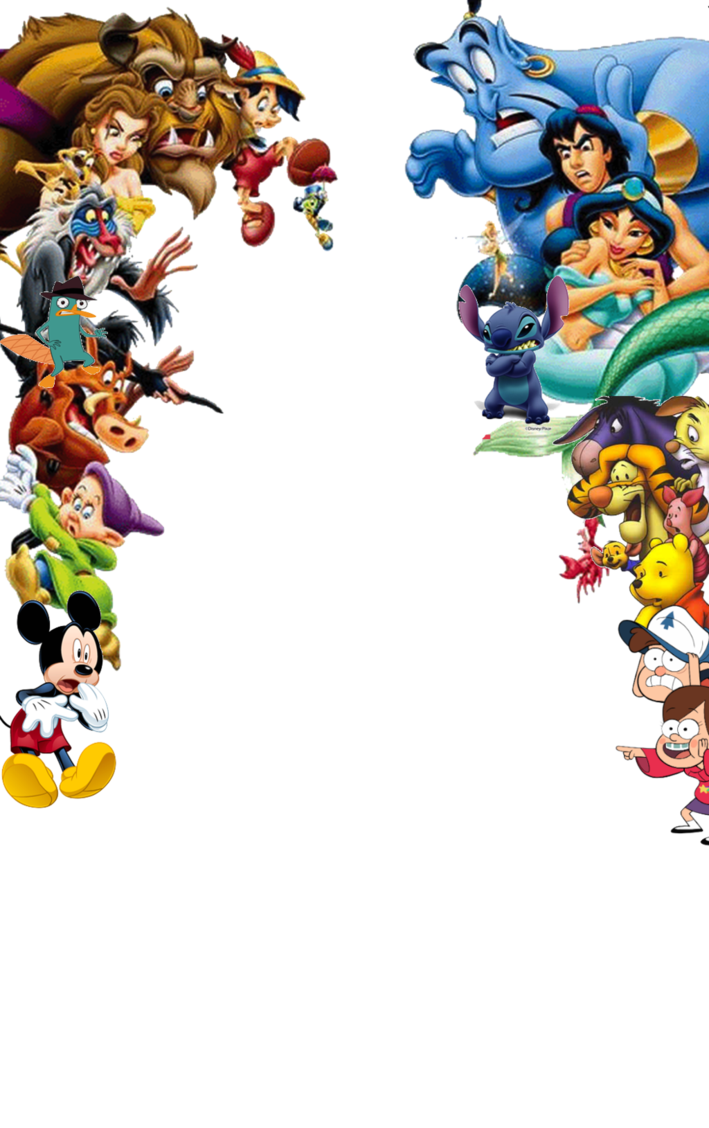 PNG Disney Characters