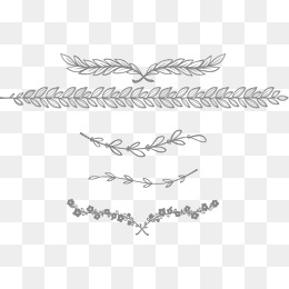 European-style lace separator bar, Dividing Line, Frame, Horizontal Flowers  PNG and - PNG Divider Lines