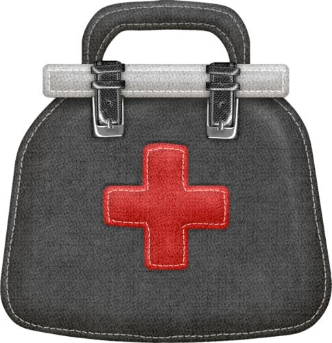 pin Treatment clipart doctor bag #7 - PNG Doctor Bag