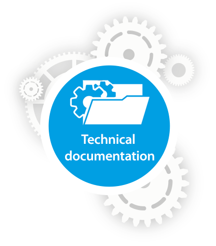 Technical documentation that is right up to date. - PNG Dokumentation