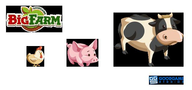 File:Big Farm Animals.png - PNG Domestic Animals