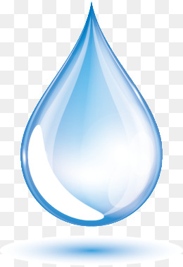 Blue Water Drops Vector, Water, Drop, Blue Water Drop PNG And Vector - PNG Drop Of Water