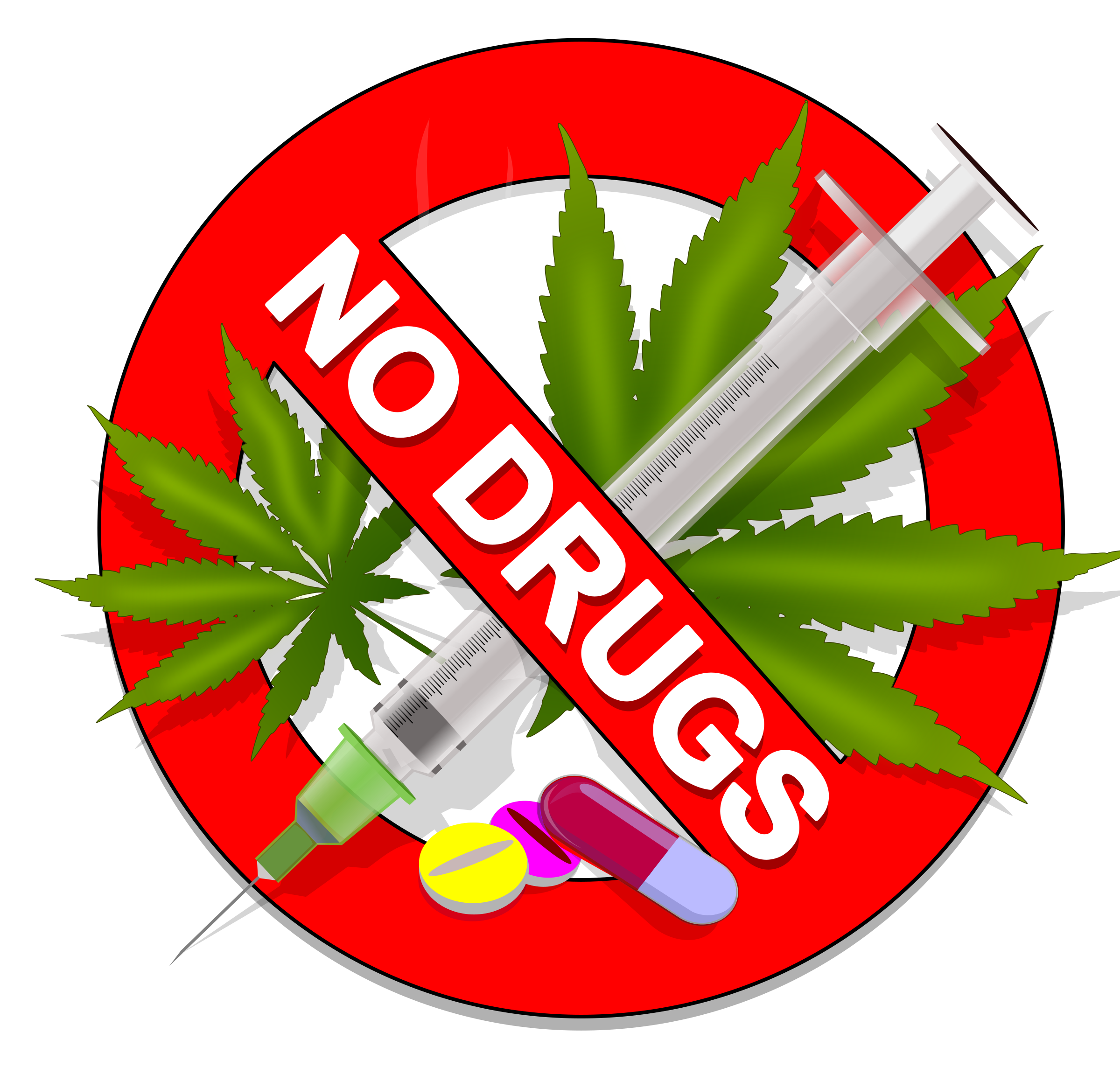 This free Icons Png design of No Drugs: Weed, Speed or Pills! - PNG Drugs