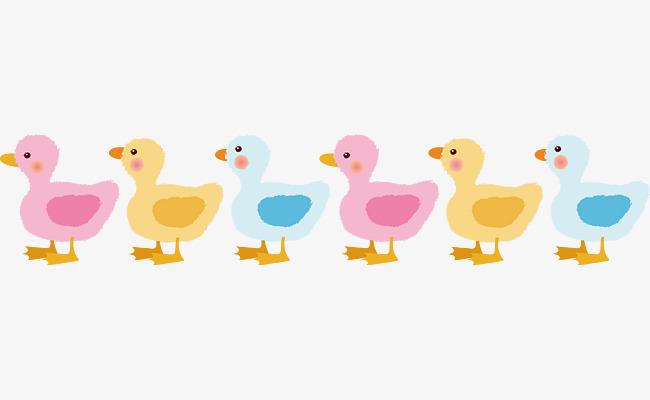 Ducks in a row vector, Vector, Cartoon, Animal PNG and Vector - PNG Ducks In A Row