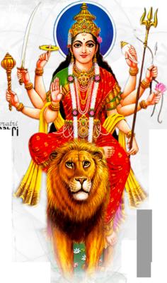 PNG Durga-PlusPNG.com-236 - PNG Durga
