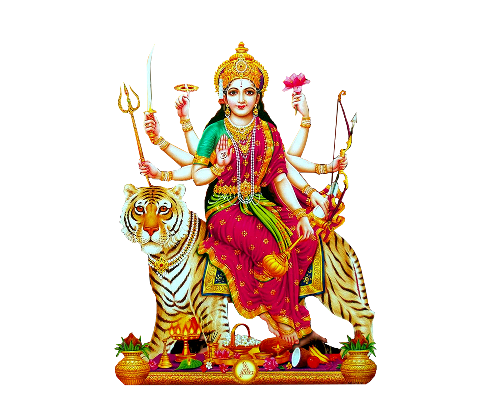 Latest durga matha png image