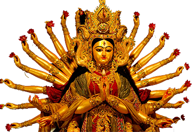 Revel in Abundant Wealth and Joy PlusPng pluspng.com - PNG Durga