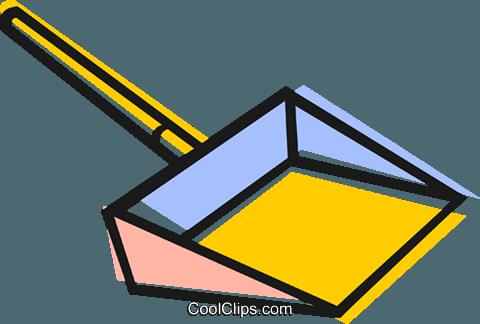 Dustpan Royalty Free Vector Clip Art illustration - PNG Dustpan