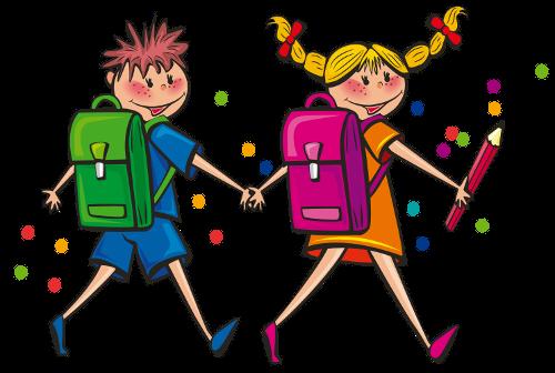 PNG Dzieci W Szkole - 60818