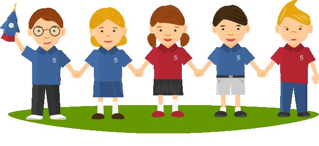 PNG Dzieci W Szkole - 60819