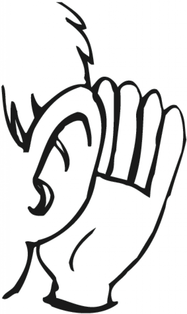 clipart of an ear listening clipart of an ear listening listening ear  clipart clipart panda free clipart images 283 X 475 - PNG Ears Listening