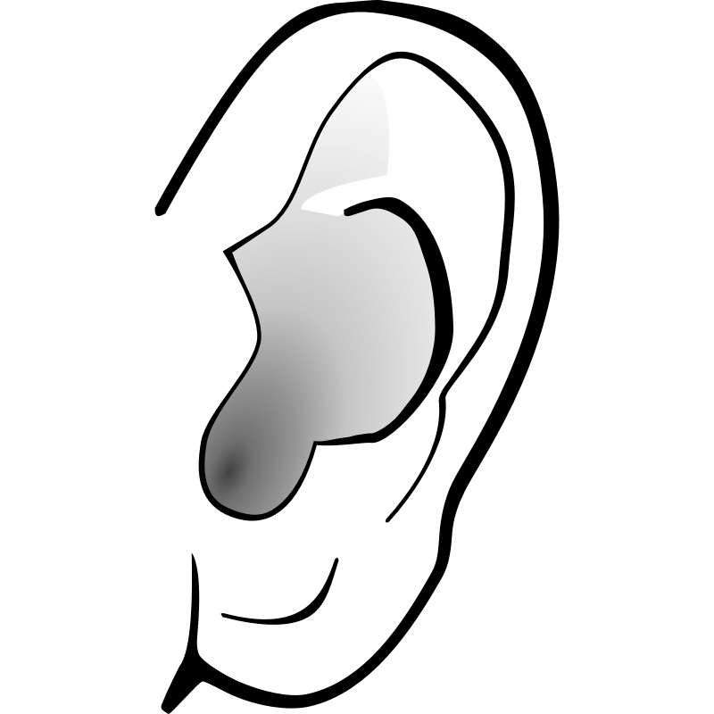 Listener clipart ear clip art listening ear clipart - PNG Ears Listening