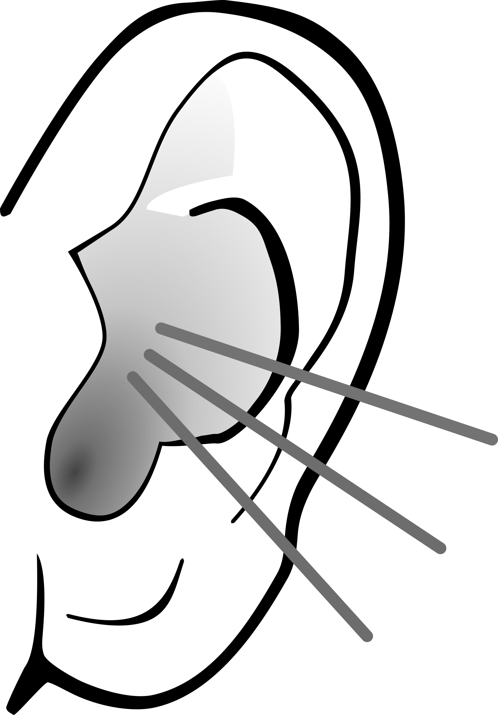 Listening Ear PNG Image - PNG Ears Listening