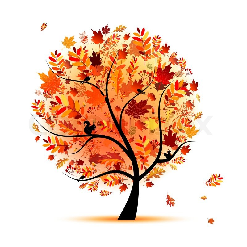 Efterår træ . PlusPng.com pic source - PNG Efterar