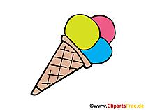 Essen Bilder, Cliparts, Cartoons, Grafiken, Illustrationen, Gifs. - PNG Eis Essen