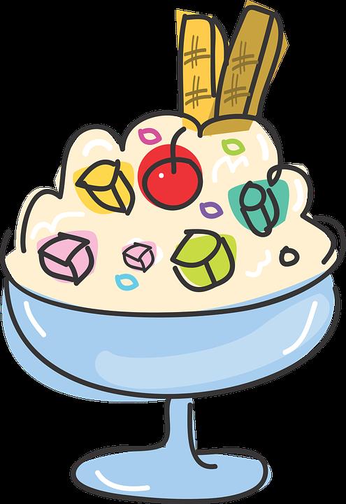 essen dessert eis süßer nachtisch - PNG Eis Essen