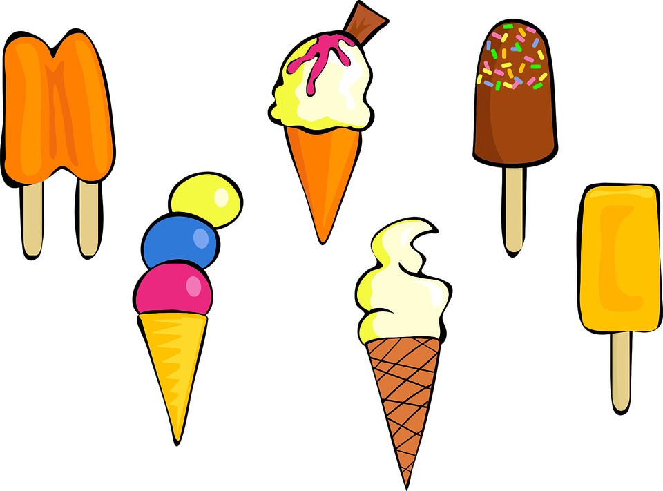 Essen, Lebensmittel, Eis, Zucker, Süß, Behandelt - PNG Eis Essen