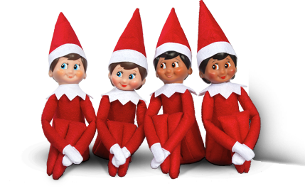 PNG Elf On The Shelf - 62869