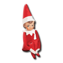 PNG Elf On The Shelf - 62871