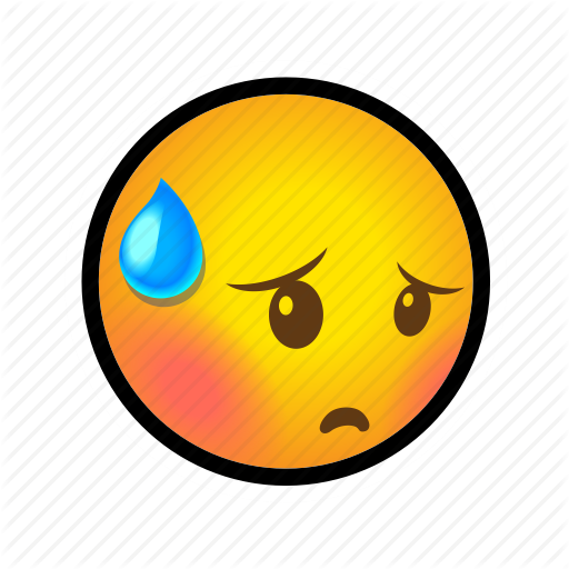 embarrassed, emoticon, face, shy, smiley icon - PNG Embarrassed