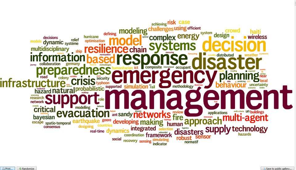 Word-cloud-publications.png.jpg. Image courtesy of Centre for Integrated Emergency  Management. - PNG Emergency Preparedness