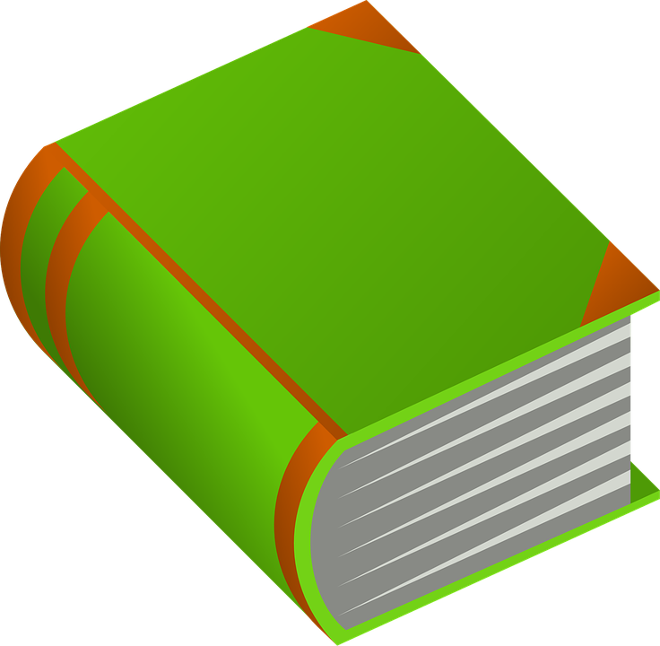 Book, Fat, Encyclopedia, Huge, Closed, Green, Orange - PNG Encyclopedia