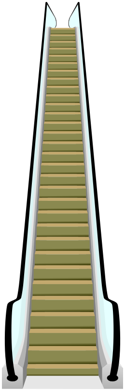 escalator 1 - PNG Escalator
