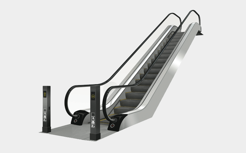 Slim Type Escalator - PNG Escalator