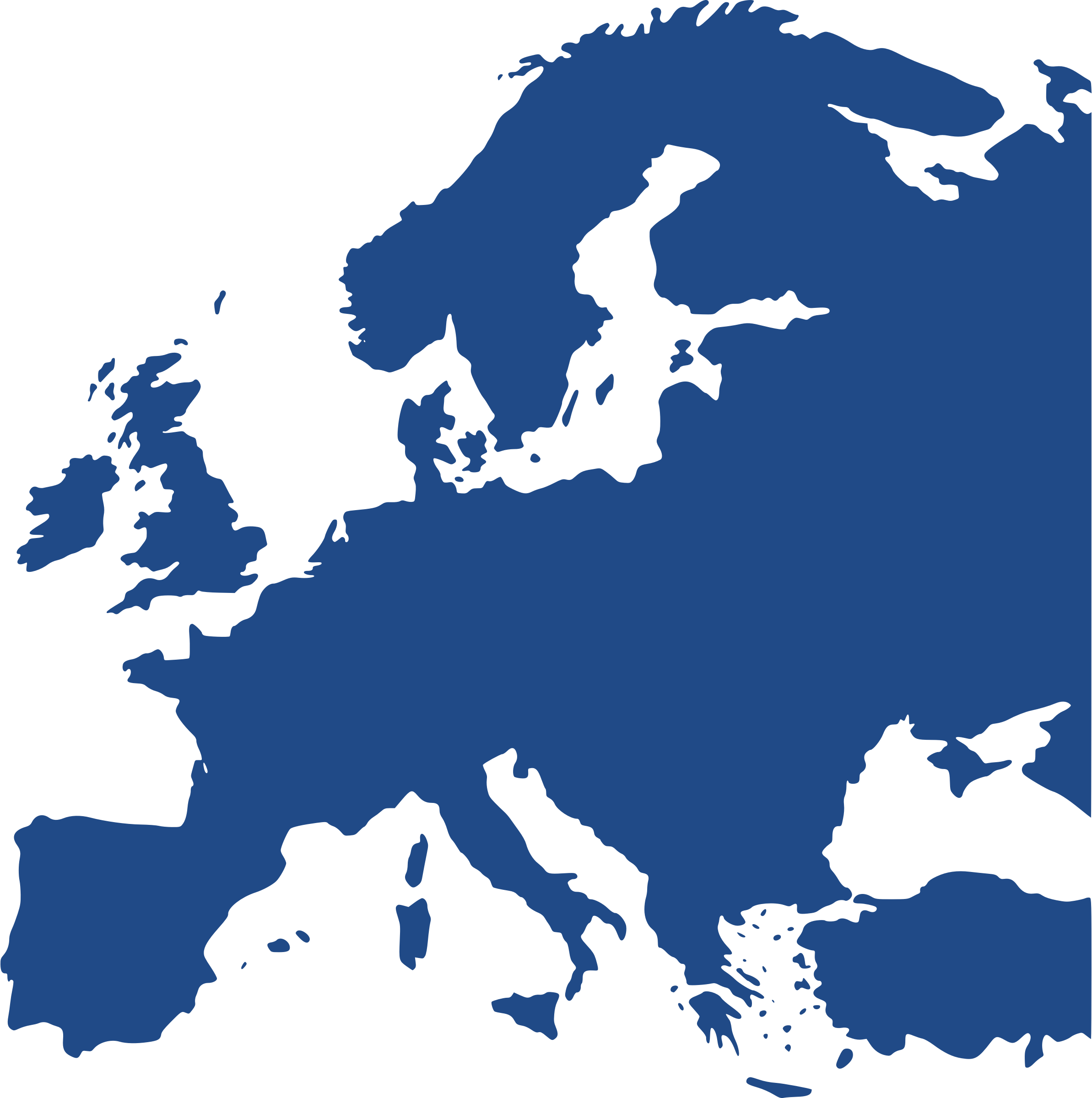 PNG Europe Map - 64400