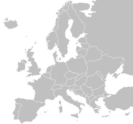 BlankMap-Europe.png PlusPng.com  - PNG Europe Map