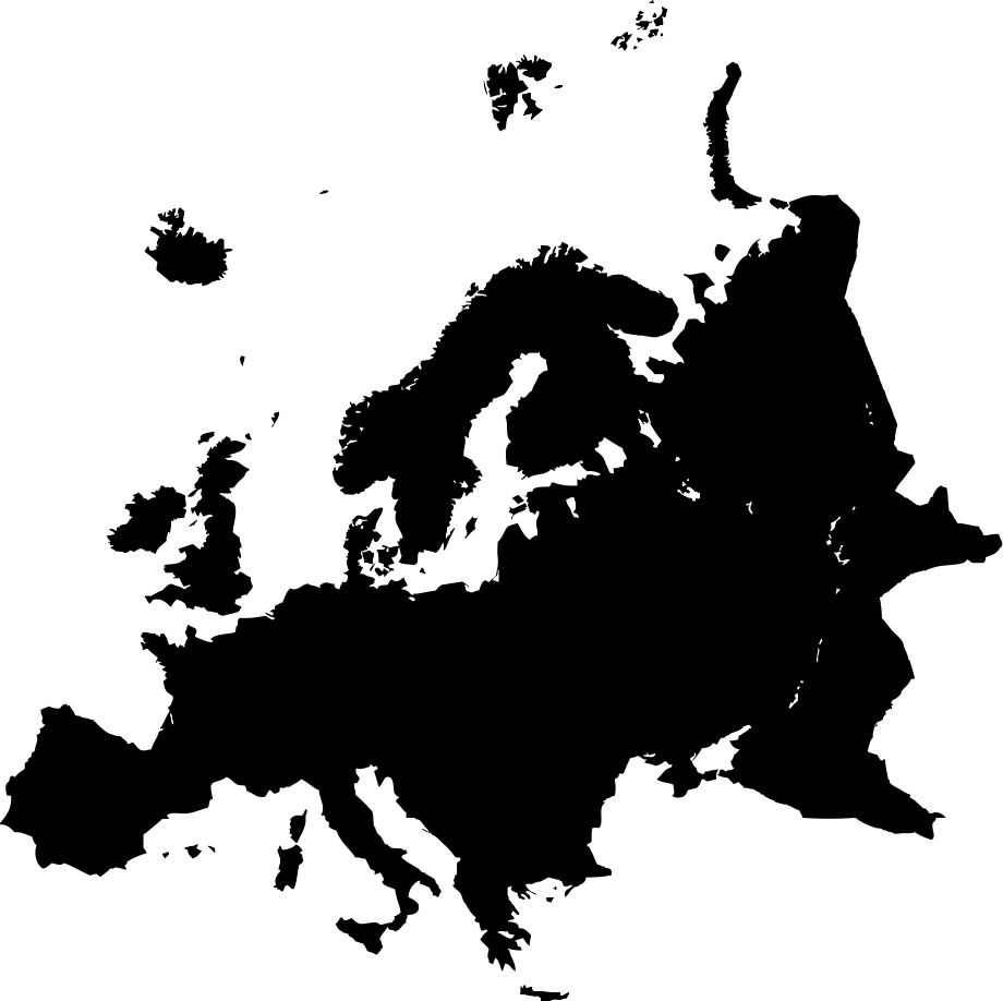 PNG Europe Map - 64409