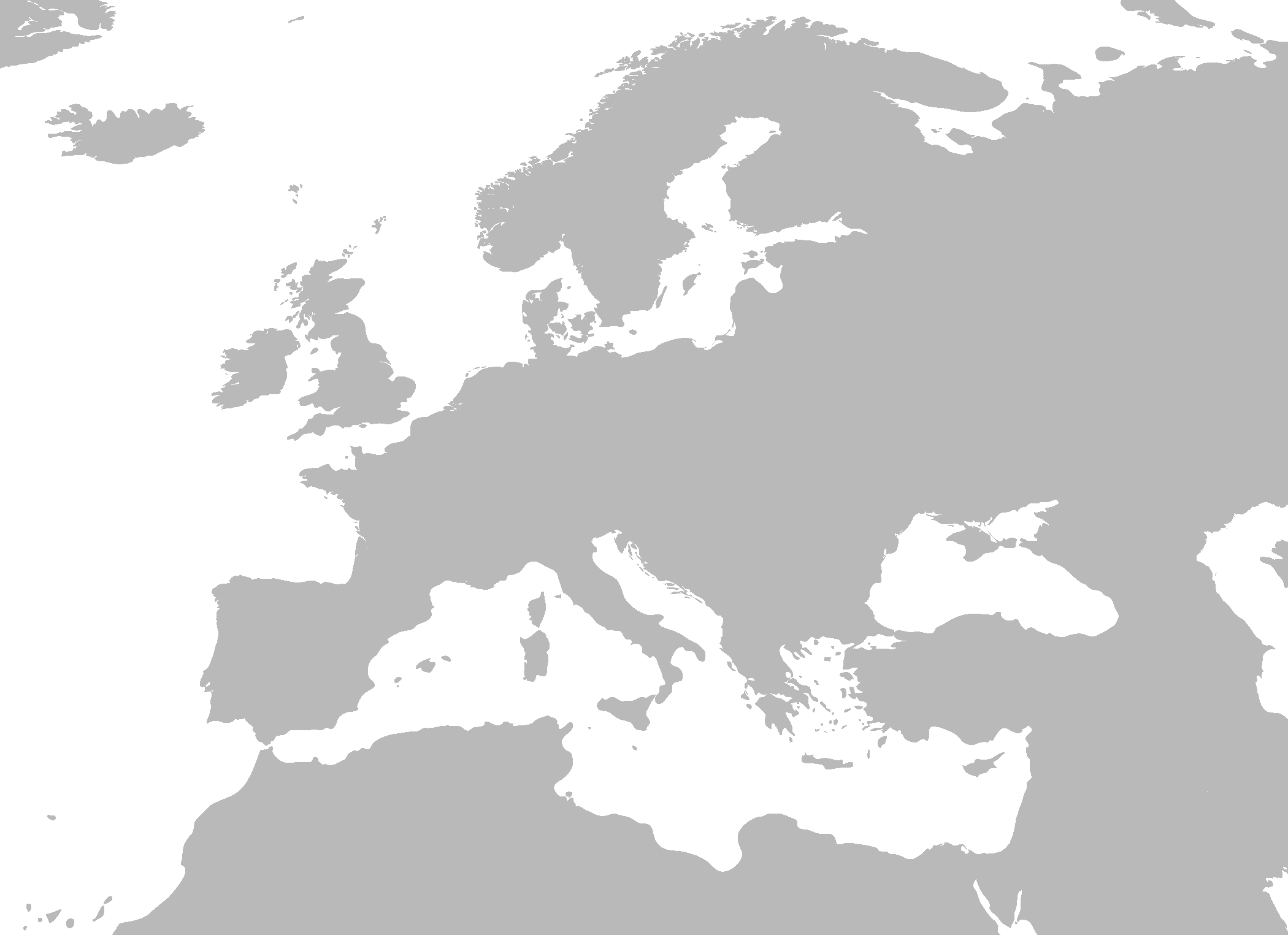 PNG Europe Map - 64398