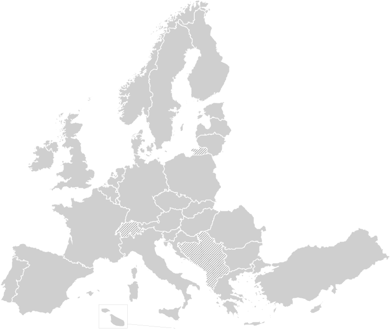 map of Europe - PNG Europe Map
