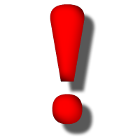 File:Exclamation mark red.png
