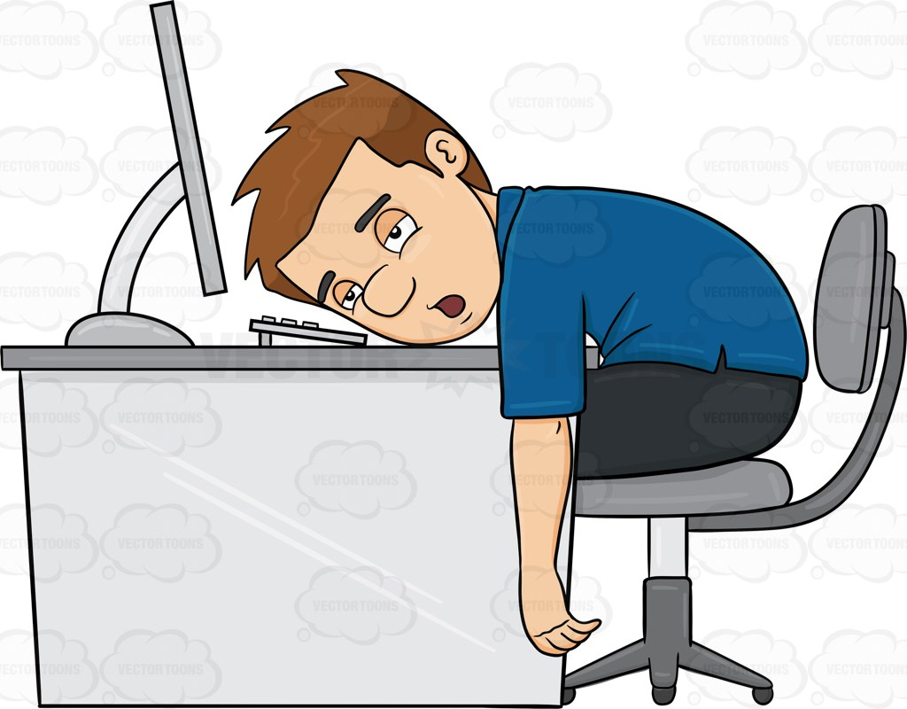 PNG Exhausted Person - 133837