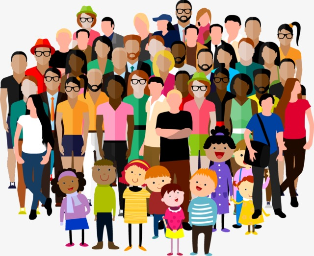 extended family, Cartoon, Flat PNG Image and Clipart - PNG Extended Family