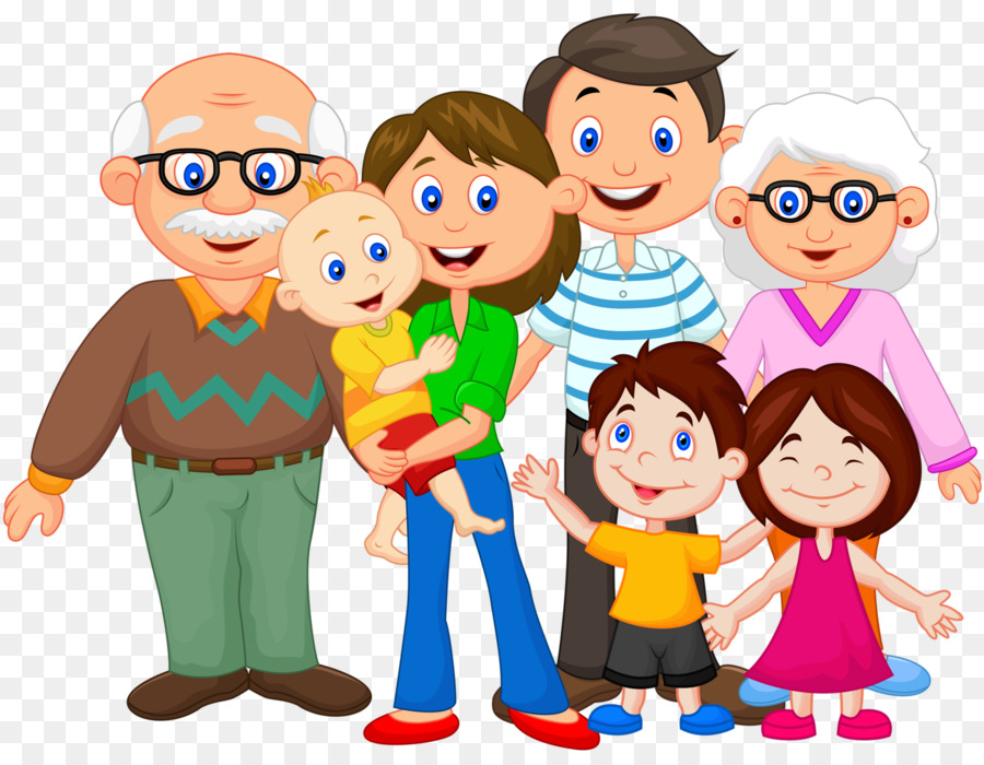Extended family Clip art - A happy - PNG Extended Family