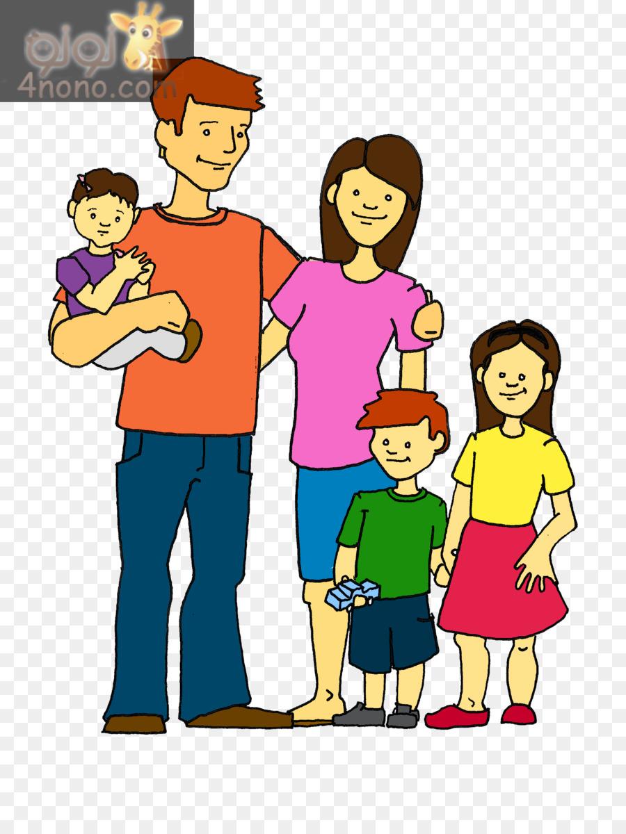 Extended family Clip art - pa