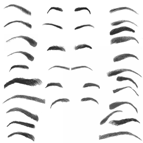 PNG Eyebrows - 62402