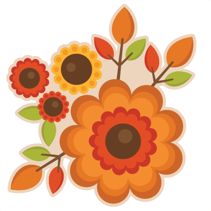 PNG Fall Flowers-PlusPNG.com-