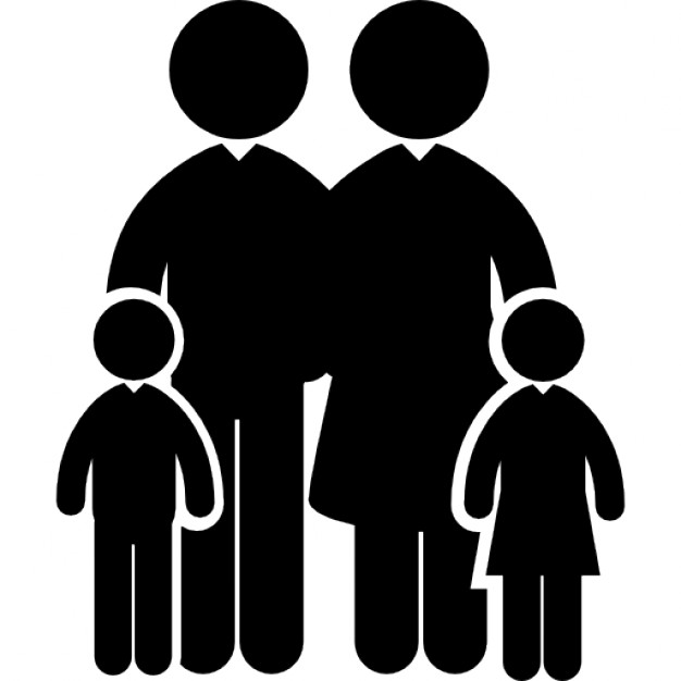 Free Icons Png:Family Icon - PNG Family Of 6