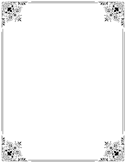 . PlusPng.com Fancy Border | Page Borders | Pinterest | Fancy, Patterns And Free . - PNG Fancy Borders