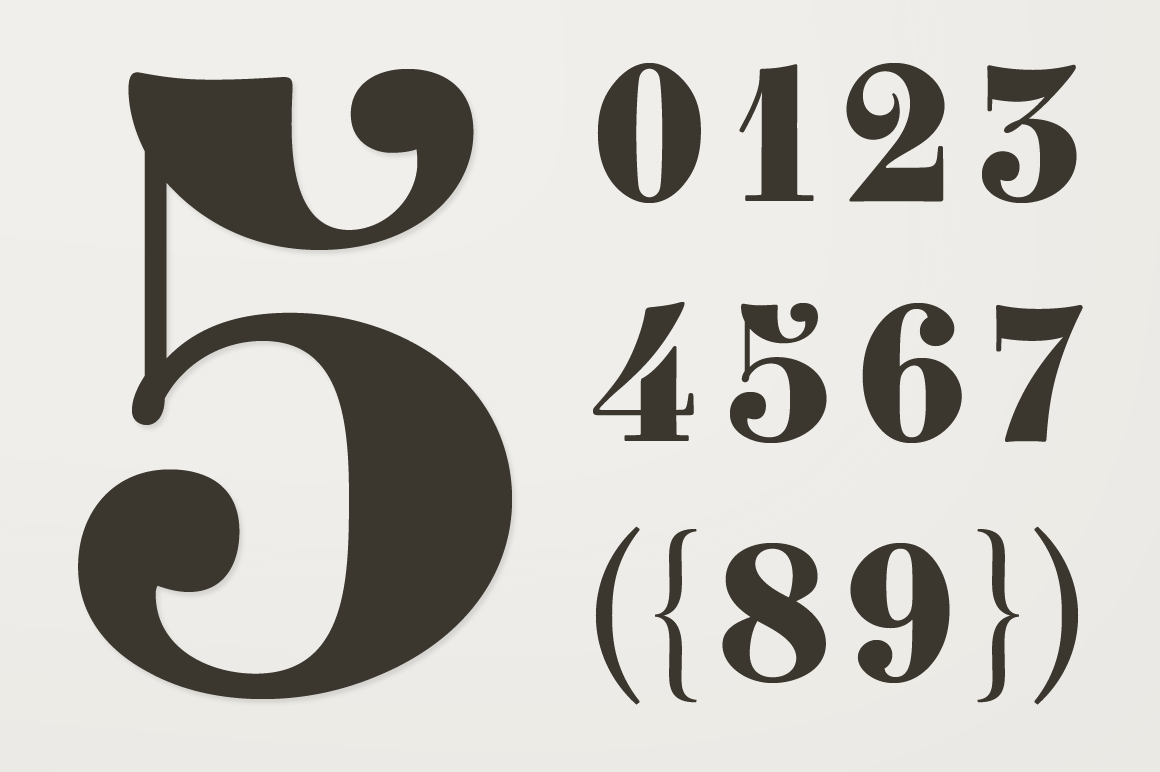 Fancy Font Numbers PlusPng.co