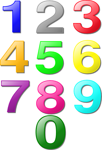 PNG Fancy Numbers - 132345