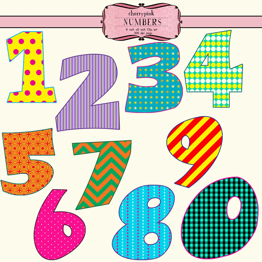 PNG Fancy Numbers - 132339