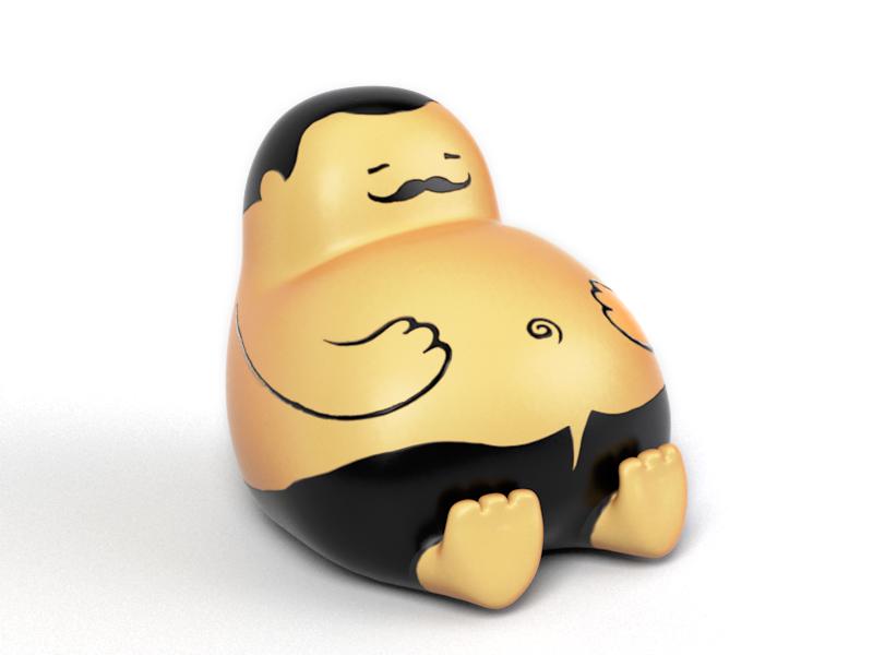 PNG Fat Man - 62427