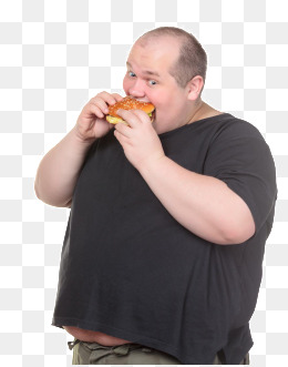 A fat man, A Fat Man, Fat Diet, Slimming Fitness PNG Image - PNG Fat Man