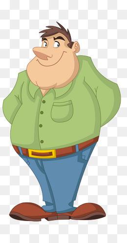 PNG Fat Man - 62423